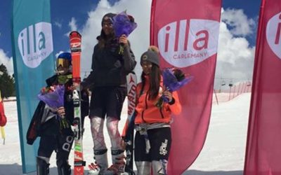 Raquel Sepulveda consigue el tercer puesto en el SG de los campeonatos nacionales Andorranos.