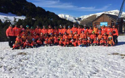 Intenso y Provechoso stage de la Inmaculada en Andorra