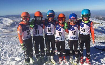 U14 y U16 de carreras en Sierra Nevada